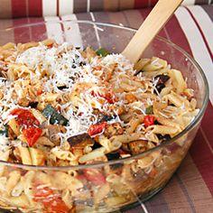 dinner, pasta salad, penn pasta, food gawker