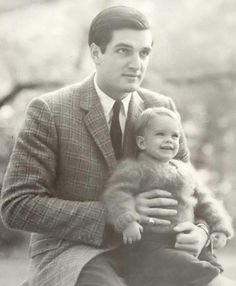 Brooke Shields with her father Frank Shields