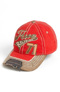 True Religion Brand Jeans Baseball Cap | for the sporty guy | mens baseball cap | athletic | sports | menswear | mens style | mens fashion | wantering http://www.wantering.com/mens-clothing-item/true-religion-brand-jeans-baseball-cap/afe9P/