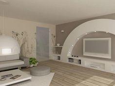 Stylish living room furniture decoration