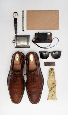 A gentleman's essentials.