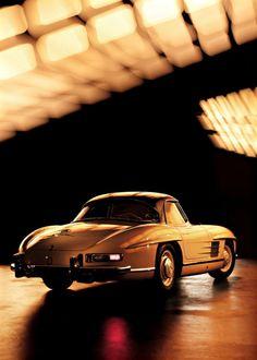 Vintage Mercedes.
