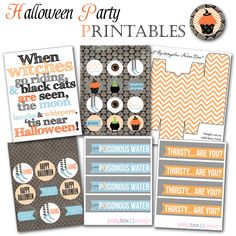 Free Halloween Printables @Party Box Design