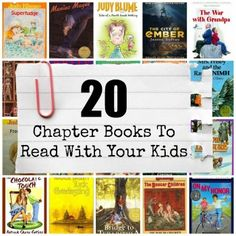 Looking for a great chapter book to read with your kids? Try one of these.
