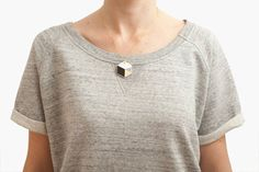 hexagon necklace - by depeapa via etsy - architectural style