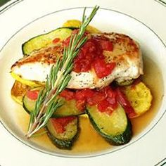 Chicken and Summer Squash
