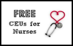 Free CEUs for Nurses & Other Health Professionals - Southern Savers