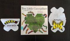 Ten Little Caterpillars from Thrive After Three