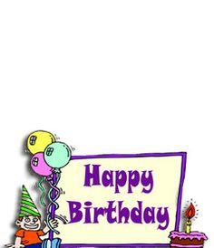 Postal de cumpleaños para niño para poner de fondo una foto. www.fotoefectos.com