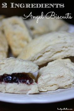How can these simple homemade biscuits be SO unbelievably good with only 2 ingredients? They are! This is a must try recipe!