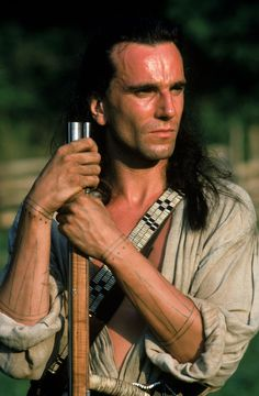Daniel Day Lewis in Last of the Mohicans