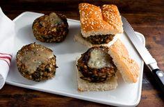 Mushroom and Grain Cheeseburgers — Recipes for Health - NYTimes.com