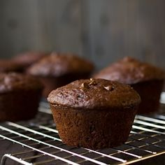Skinny Chocolate Chip Muffins by savorysimple