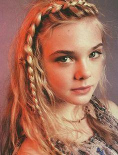 Cute hairstyles idea for teen,braided hair.
