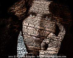 A Portrait Of Oscar Wilde digital artwork by Kenneth Rougeau