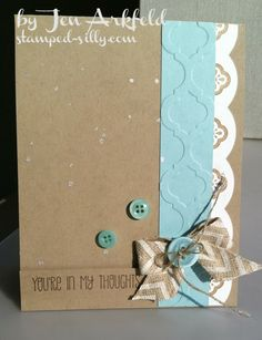 Stamped Silly: Clean & Simple with Mosaic Madness....