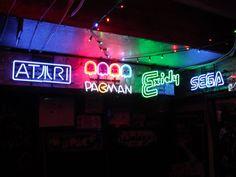 Neon Signs - Vidiot Arcade
