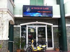 Touch of Glass group alcohol and liquor store Balibago, Angeles City Philippines