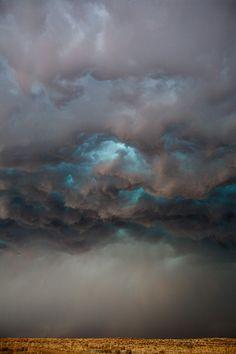 The Blue Eye by Camille Seaman 2008