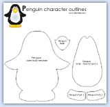 Penguin pattern. after watching Happy Feet this is great!