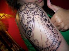 disney tattoo, heart tattoos