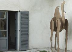 giant cardboard animals