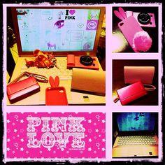 I PINK!!  #iphonecase #sonylaptop #sonycam #pinkislove I PINK!!  #iphonecase #sonylaptop #sonycam #pinkislove