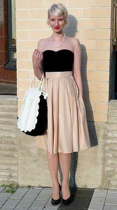 Love that skirt.