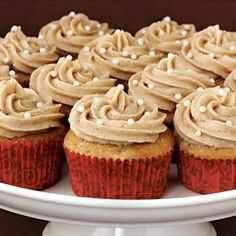 Vanilla Bhakti Chai Cupcakes