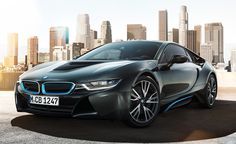 The BMW i8.  This is really going into production?  #wow