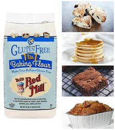 NEW!! Gluten Free 1-to-1 Baking Flour | Bob's Red Mill