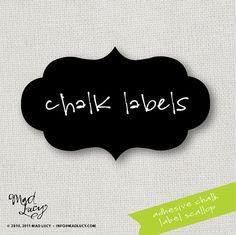 chalk labels