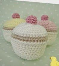 Cupcake Amigurumi Patron Gratis : crochet cupcakes free pattern on Pinterest Crochet ...