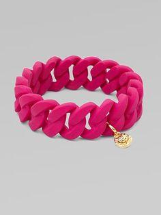 Rubber Wrapped Bracelet, Marc by Marc Jacobs #Bracelet #Marc_Jacobs