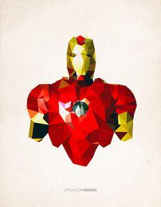 Polygon Heroes http://bit.ly/JobqGA #Heroes #comics #marvel #avengers
