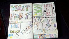 Ideas from Hand Lettering by Marci Donley and DeAnn Singh---lots of fun stuff.  Colored pencils
