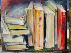 L. Afremov. old painting 3