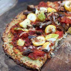 Cauliflower crust? This I must try!  8 Genius Ways to Use Veggies You Never Would Have Thought Of | Women's Health Magazine