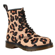 Dr. Martens Boots 1460 Leopard Cheap $125.00