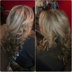 Partial highlight and style by Rebecca Lopez partial highlight