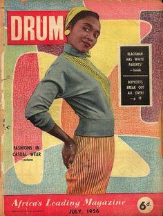 Drum, July 1956 magazin