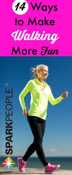 Make any #walking #workout more fun with these tips! | via @SparkPeople #fitness #motivation #fitspiration