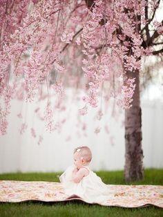 #Spring #baby