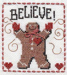 Believe Gingerbread Man