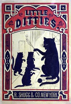"""Little Ditties"" published by R. Shugg & Co., New York - c. 1874"