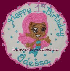 Bubble Guppy Molly Birthday Cake