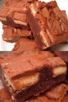 Twix brownies!