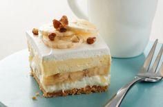 """Banana Split """"Cake"""" recipe    #kraftrecipes"""