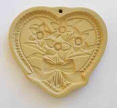 ~ Heart w/ Daffodills Cookie Mold ~