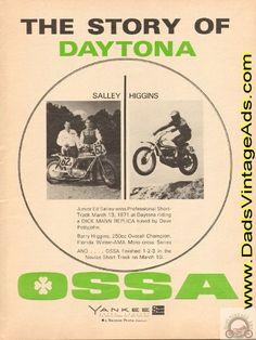 1971 Ossa Motorcycle Story of Daytona – Salley / Higgins